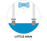 Little Man Personalised Birthday Party Favours