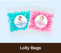 Custom Lolly Bags For Christenings And Baptisms