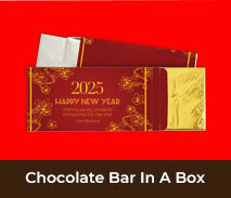 Custom Lunar New Year Chocolate Bar Boxes