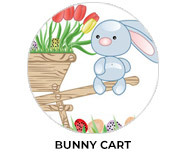 Bunny Cart Personalised Easter Chocolates