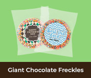 Father's Day Giant Chocolate Freckles