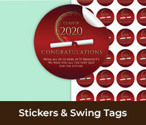 Custom Stickers & Swing Tags For School Events