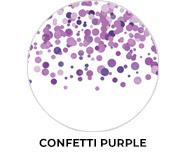 Confetti Purple Wedding Theme Favours