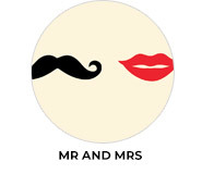 Mr And Mrs Theme Wedding Favours