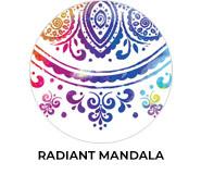 Radiant Mandala Wedding Theme Favours