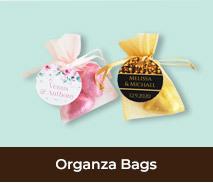 Personalised Organza Bags For Weddings