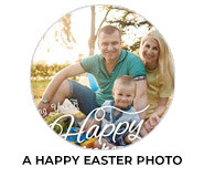 A Happy Easter With Photo Easter Chocolates