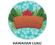 Hawaiian Luau Theme Birthday Favours