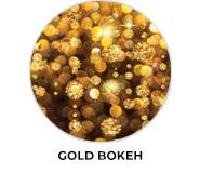 Gold Bokeh Theme Wedding Favours