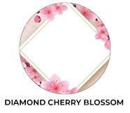 Diamond On Cherry Blossom Wedding Theme Favours
