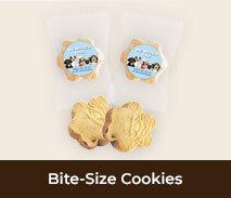 Custom Welcome Back Bite-Sized Cookies