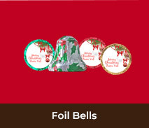 Christmas Foil Covered Chocolate Bells