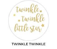 Twinkle Twinkle Custom Baby Shower Favours