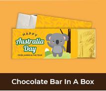 Custom Chocolate Bar Boxes For Australia Day