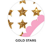 Gold Stars Custom Birthday Party Favours