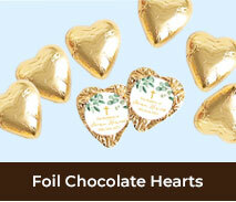 Christening And Baptism Chocolate Hearts