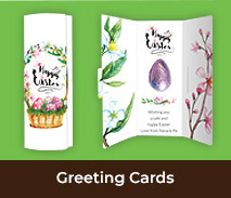 Chocolate Easter Greeting Cards
