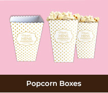 Personalised Popcorn Boxes For Hens Nights