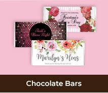 Hens Night Personalised Chocolate Bars