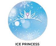 Ice Princess Theme Birthday Favours