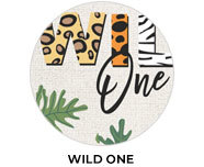 Wild One Theme Personalised Birthday Favours
