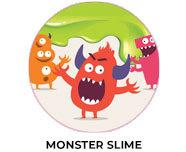 Monster Slime Theme Custom Birthday Favours