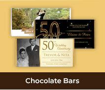 Wedding Anniversary Chocolate Bars