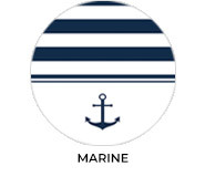 Marine Theme Personalised Baby Shower Favours