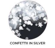 Thank You - Confetti In Silver