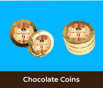 Chocolate Coins For Kids Birthday Parties
