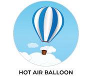 Hot Air Balloon Theme Birthday Favours