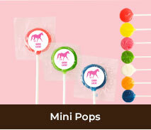 Personalised Mini Pops For Spring Racing Events
