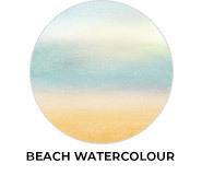Beach Watercolour Wedding Theme Favours