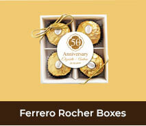Wedding Anniversary Ferrero Rocher Gift Boxes