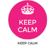 Keep Calm Custom Baby Shower Favours