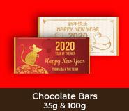 Chinese New Year Chocolate Bars