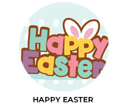 Happy Easter Personalised Easter Chocolate
