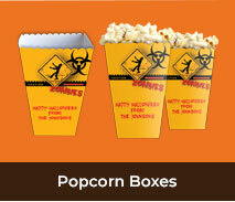 Personalised Popcorn Boxes For Halloween