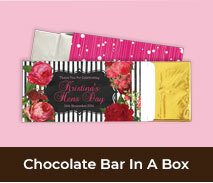 Personalised Hens Night Chocolate Bar Boxes