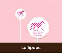 Horse Racing Carnival Lollipops