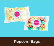 Personalised Thank You Popcorn Bags