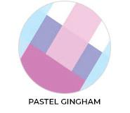 Thank You - Pastel Gingham