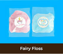 Personalised Fairy Floss For Birthdays