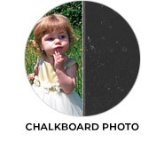 Chalkboard Photo Birthday Party Favours