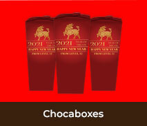 Custom Chocabox Favour Boxes For Lunar New Year