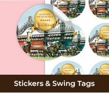 Custom Stickers And Tags For Spring Racing