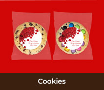 Personalised Cookies For Valentines Day