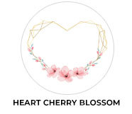 Heart Frame Cherry Blossom Wedding Theme Favours