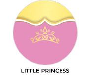Little Princess Birthday Party Custom Favours
