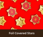 Chinese New Year Gold Chocolate Stars
